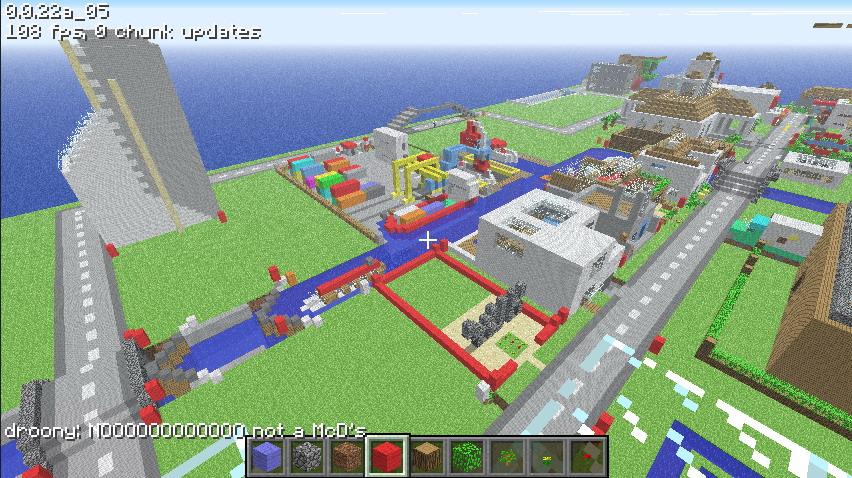 Скачать Minecraft 0.7.2 Zдля Андроид